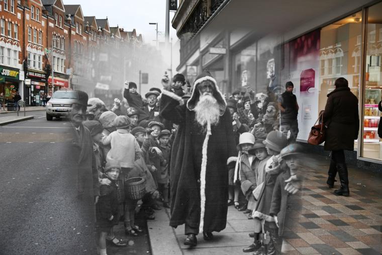 Image: Christmas Past and Christmas Present