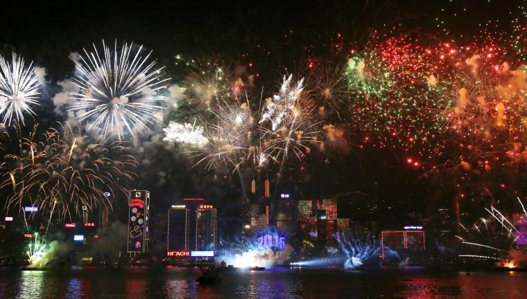 Image: HONGKONG-NEW YEAR