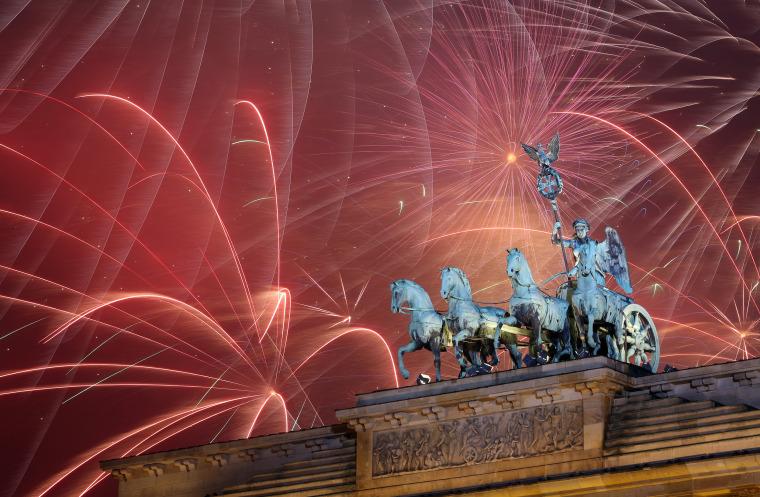 Image: Berlin Celebrates New Year's Eve