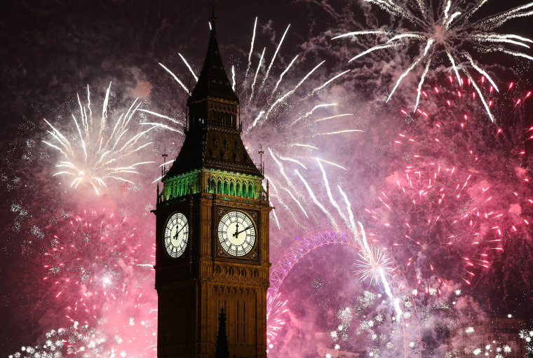 Image: The New Year Is Celebrated In London
