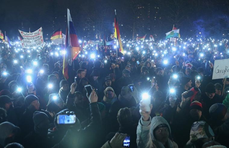Image: Pegida Demonstrations Continue