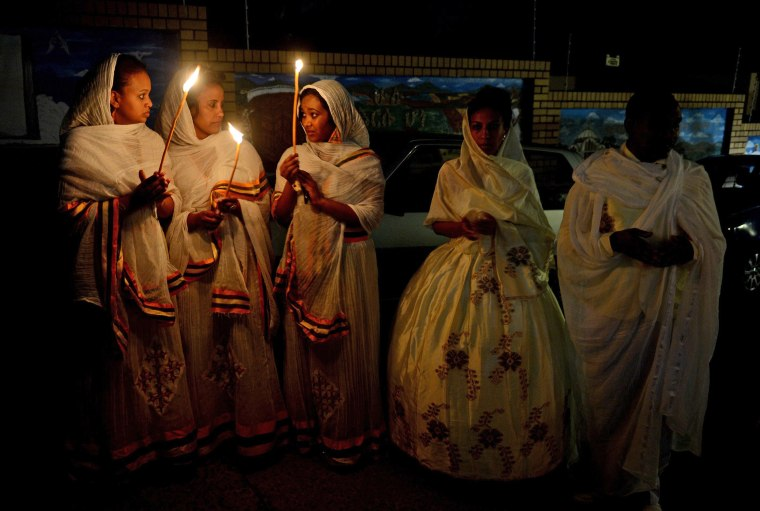 Image: Christmas Eve mass in Johannesburg