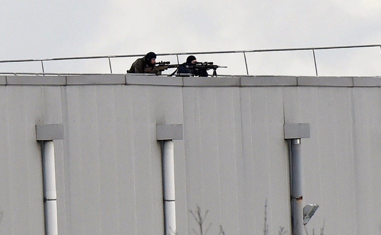 Image: FRANCE-ATTACKS-CHARLIE-HEBDO-SHOOTING-SECURITY