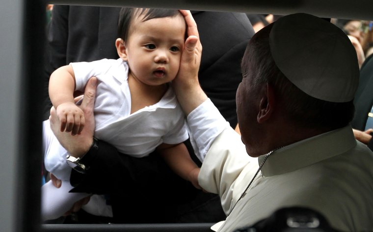 Image: Pope visits Philippines.
