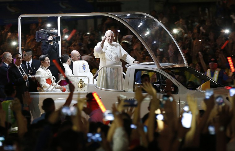 Image: Pope visits Philippines