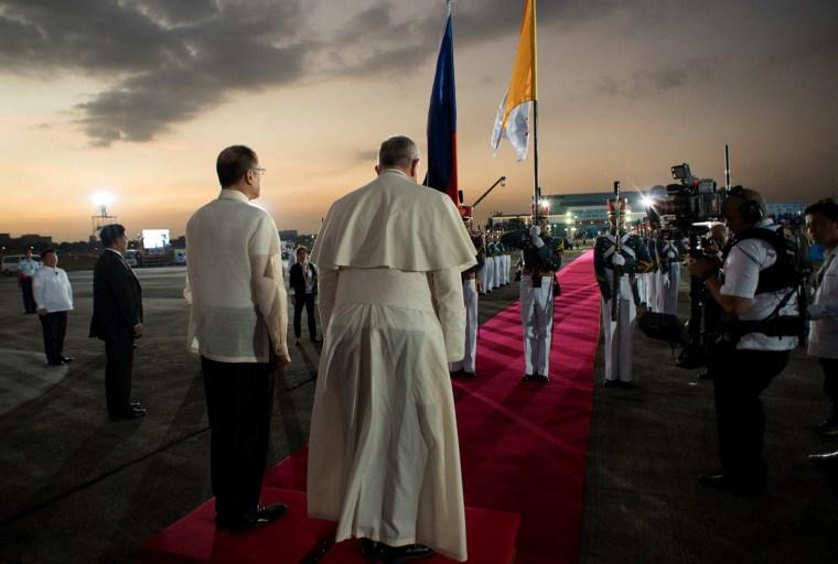 Image: PHILIPPINES-RELIGION-POPE-VATICAN