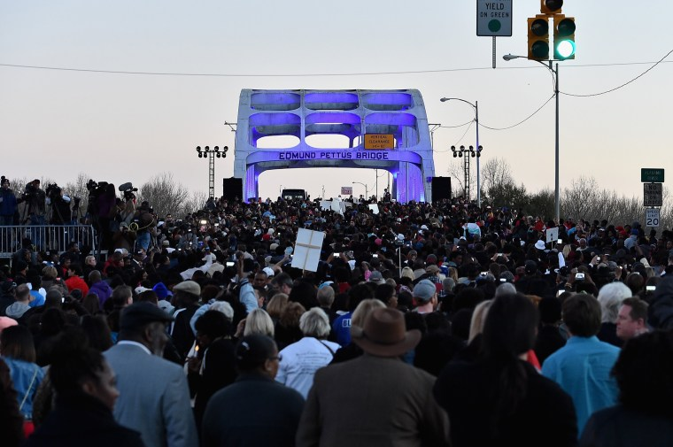 "Image: Paramount Pictures Presents ""Selma"" In  Selma - Commemorative Walk"
