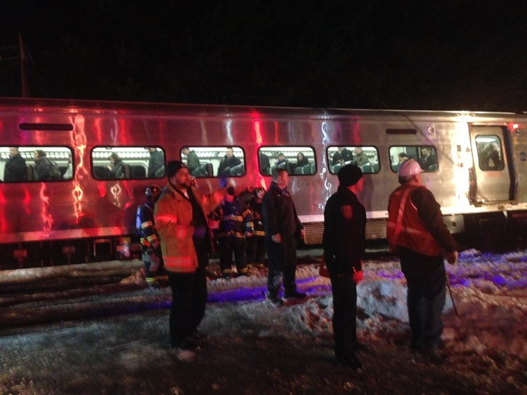 Image: Metro North Commuter Train Collides With Two Vehicles Killing 6