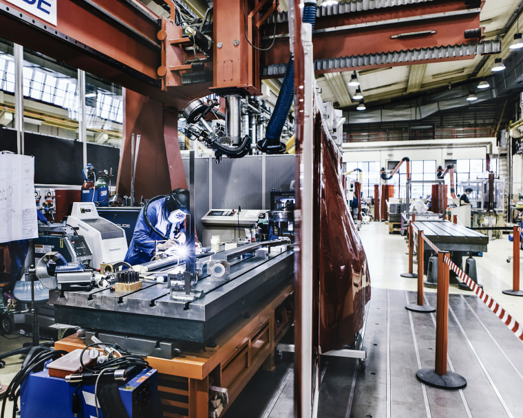 The Main Workshop building of CERN institute is one of the most important piece of CERN. It is the house of every experimental pieces used by the huge community of scientists working with the LHC (Large Hadron Collider)