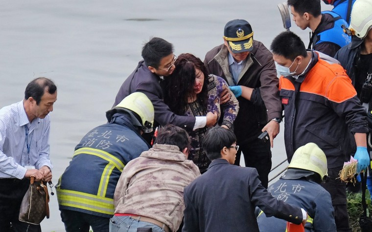 Image: TAIWAN-PLANE-ACCIDENT