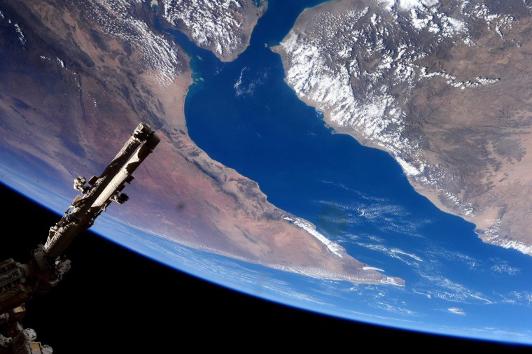 Image: International Space Station flyover of Gulf of Aden and Horn of Africa