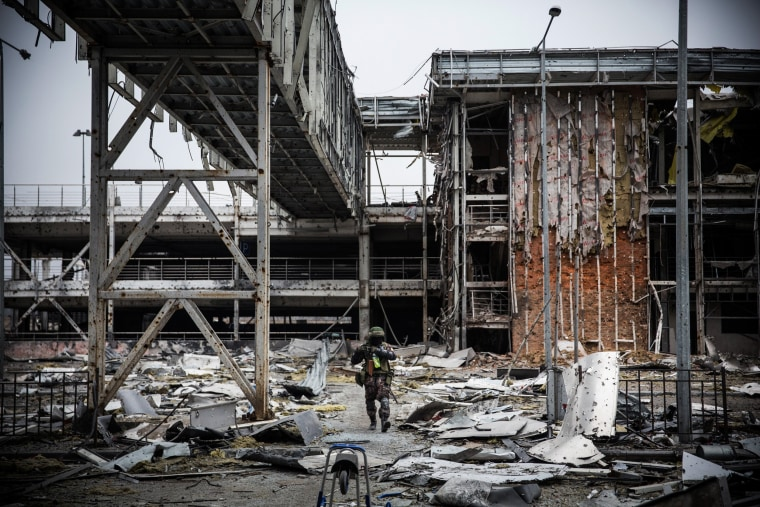 Image: Conflict In Eastern Ukraine Takes Its Toll On Donetsk