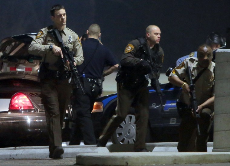 Image: Two officers shot