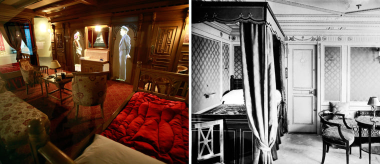 Image: First class accomodations aboard the RMS Titanic in an undated photo
