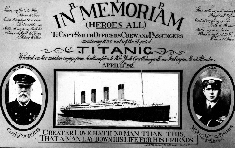 Image: (FILE PHOTO) 100 Years Since The Sinking Of The RMS Titanic