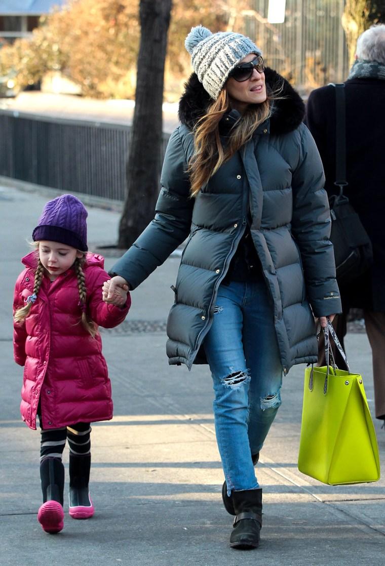 Image: Celebrity Sightings In New York - December 19, 2013
