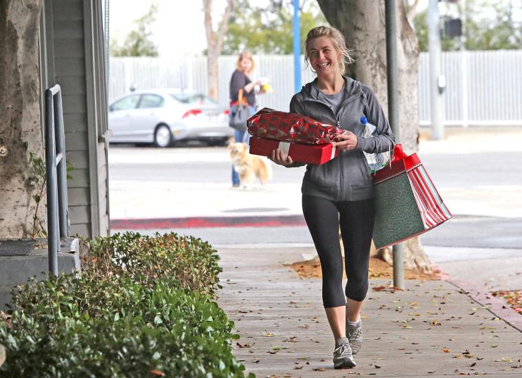 Image: Celebrity Sightings In Los Angeles - December 19, 2013