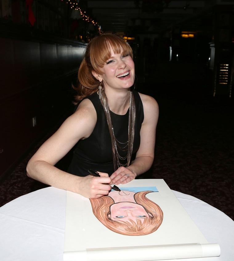 Image: Kate Baldwin Official Sardi's Portrait Unveiling