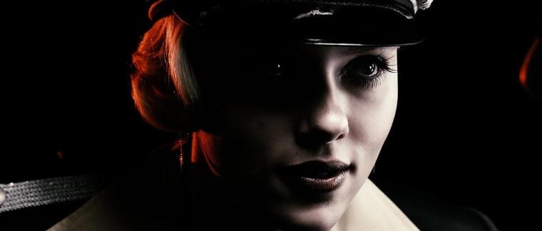 SILKEN FLOSS (Scarlett Johansson), a punk secretary and frigid vixen;