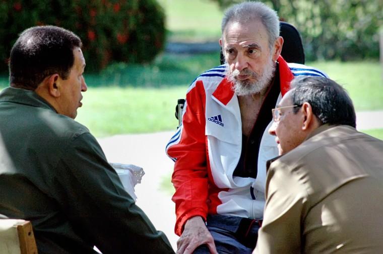 YEAR-2008-CUBA-VENEZUELA-DIPLOMACY