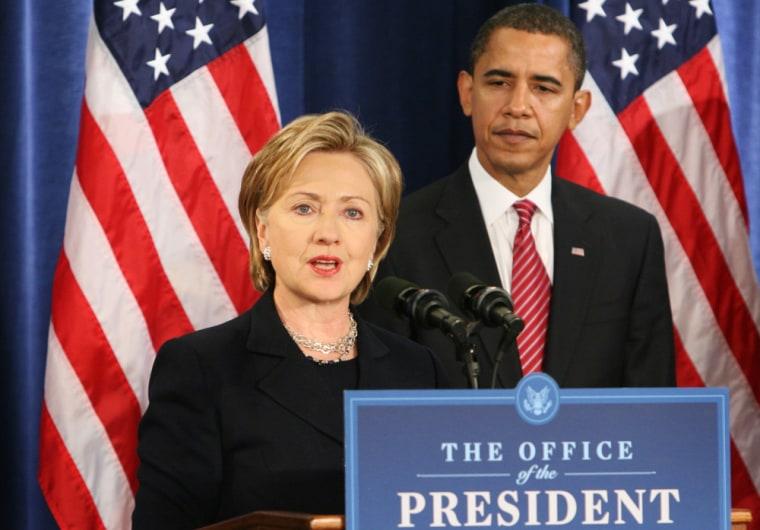 President-Elect Barack Obama Names National Security Team - Chicago