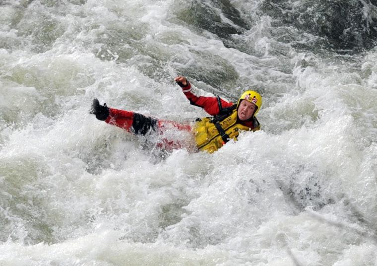 Image: Dramatic rescue