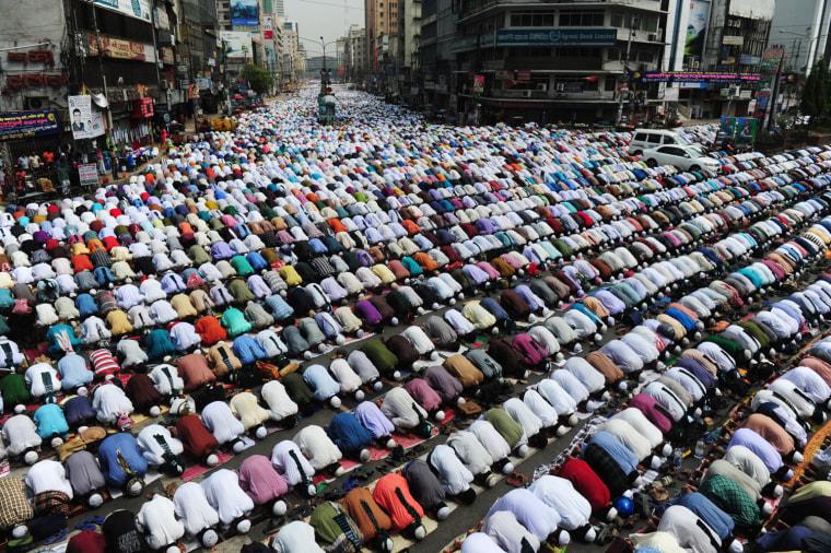 Image: TOPSHOTS-BANGLADESH-POLITICS-RELIGION