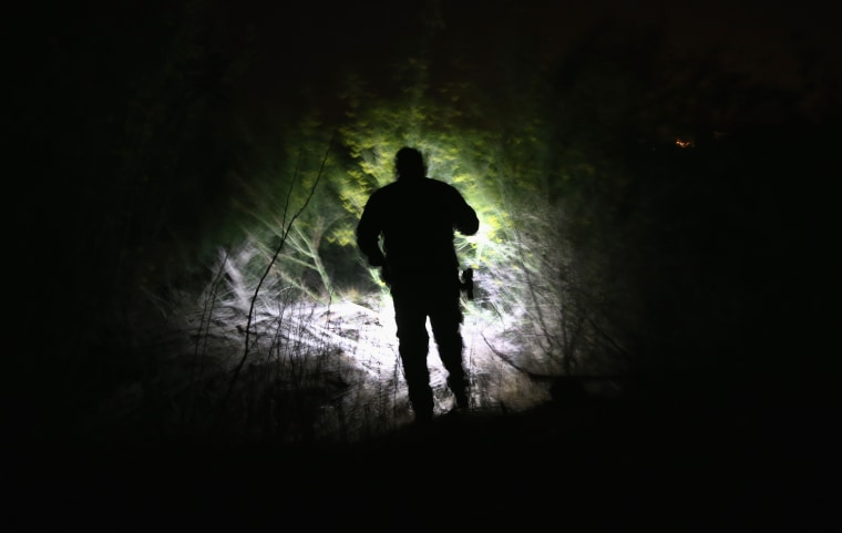Image: U.S. Customs And Border Protection Secures Tex-Mex Border From Land, Air and Sea