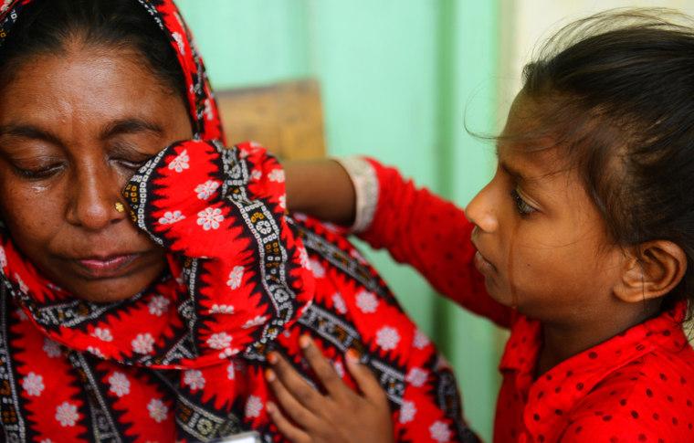 Image: BANGLADESH-BUILDING-DISASTER-TEXTILE