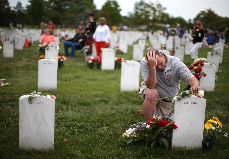 Image: Memorial Day Commemorated At Arlington National Cemetery