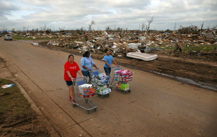 Image: Moore Continues Slow Recovery One Week After Massive Tornado Hits