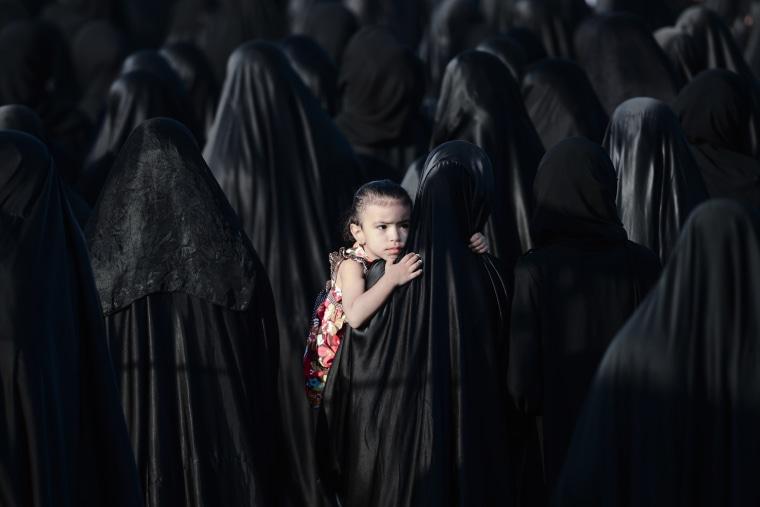 Image: BAHRAIN-POLITICS-UNREST-FUNERAL