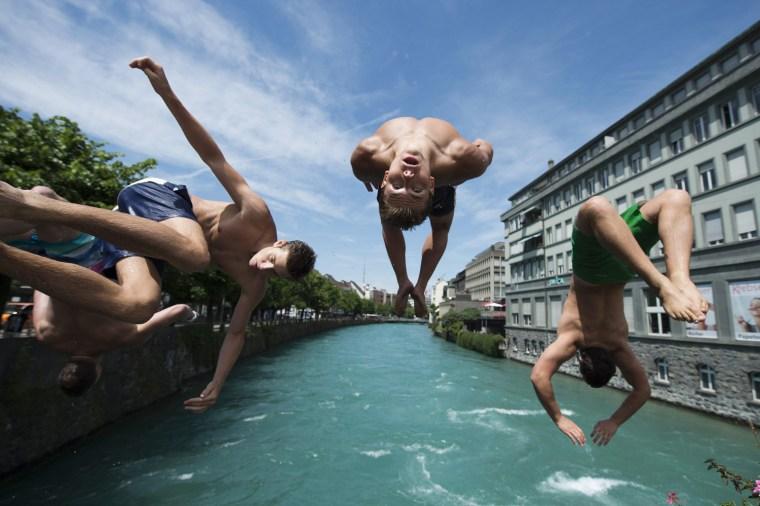 Image: Heat wave in Switzerland