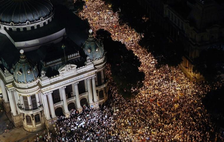 Image: Protest in Brazil