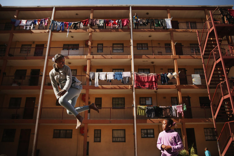 Image: Daily Life In The Alexandra Township