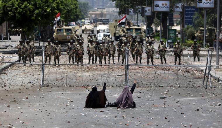 Image: TOPSHOTS-EGYPT-POLITICS-UNREST