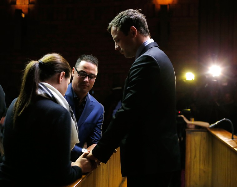 Image: BESTPIX Oscar Pistorious At Indictment Hearing