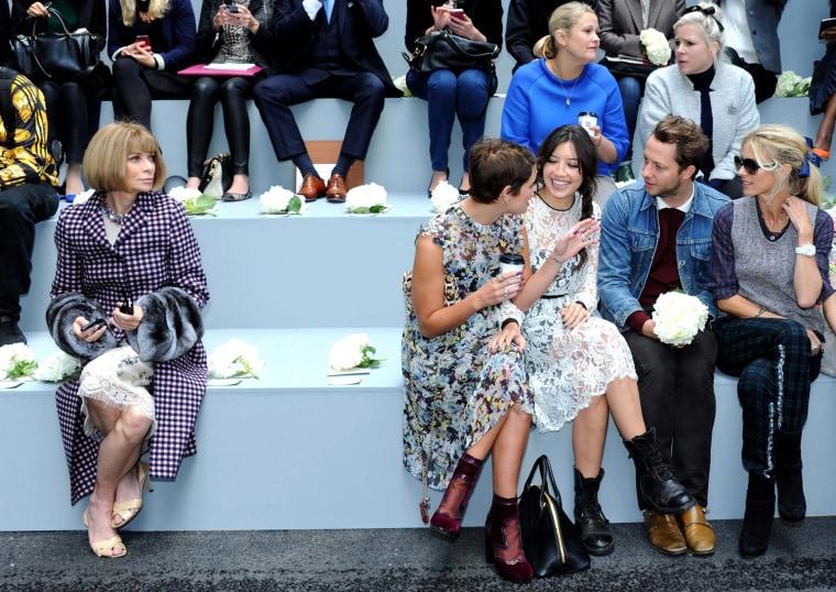 Image: BESTPIX: Erdem - Front Row: London Fashion Week SS14