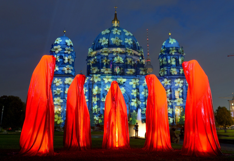 Image: TOPSHOTS-GERMANY-ART-FESTIVAL-OF-LIGHTS