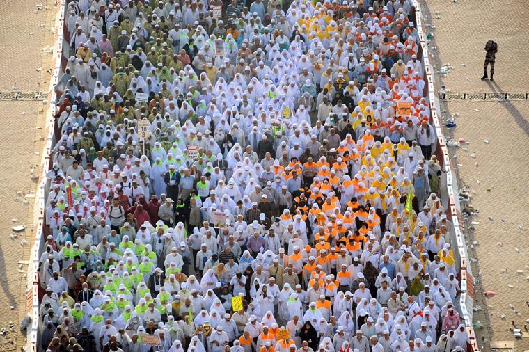 Image: SAUDI-RELIGION-ISLAM-HAJJ