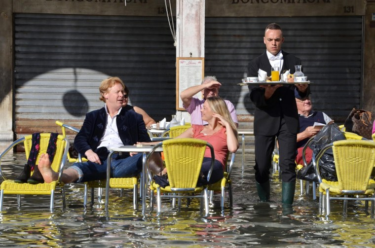 Image: High water in Venice