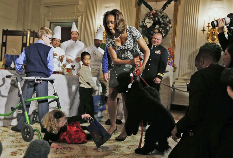 Image: Michelle Obama, Ashtyn Gardner