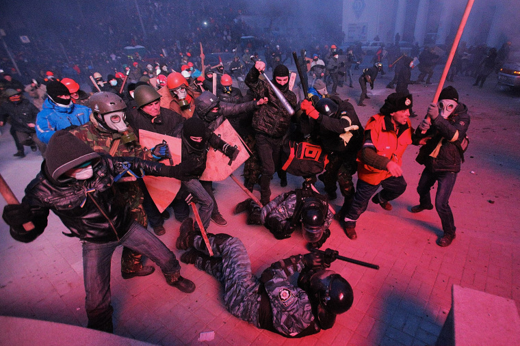 Image: *** BESTPIX *** Mass Protest in Kiev