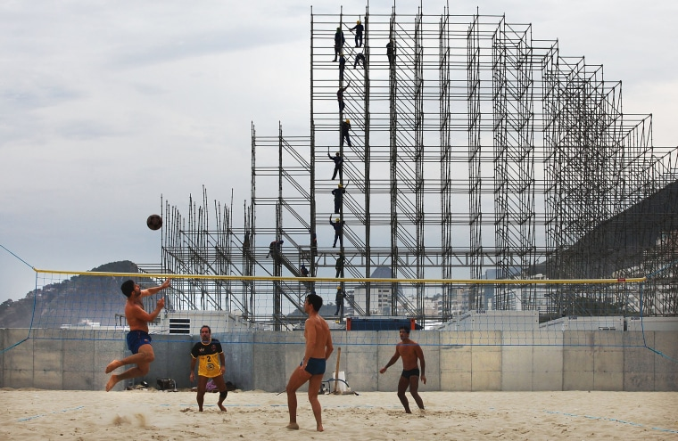 Image: ***BESTPIX*** Rio Gears Up For World Cup Tourism