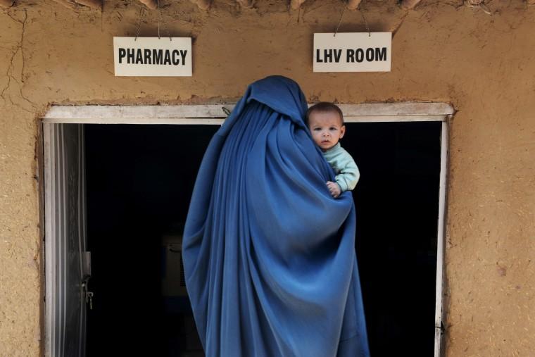 Image: TOPSHOTS-PAKISTAN-AFGHANISTAN-REFUGEES
