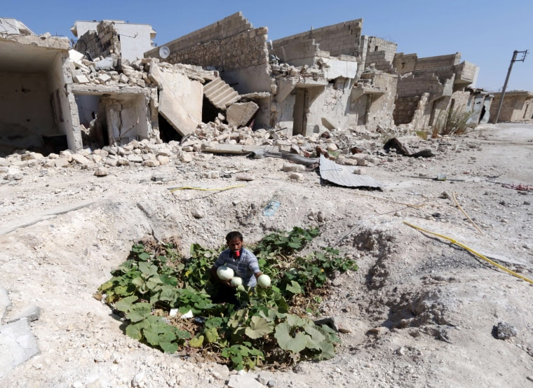 Image: TOPSHOTS-SYRIA-CONFLICT-DAILY LIFE