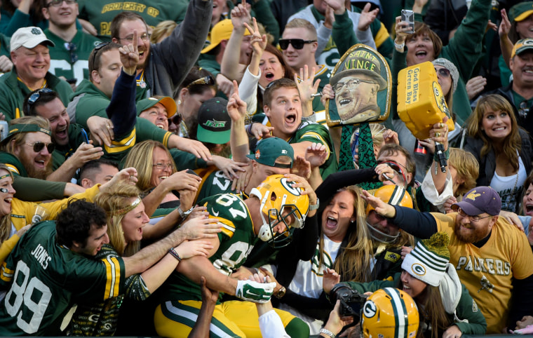 Image: NFL: New York Jets at Green Bay Packers