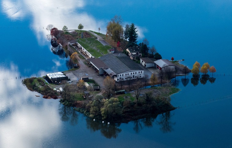 Image: Flooding in Switzerland