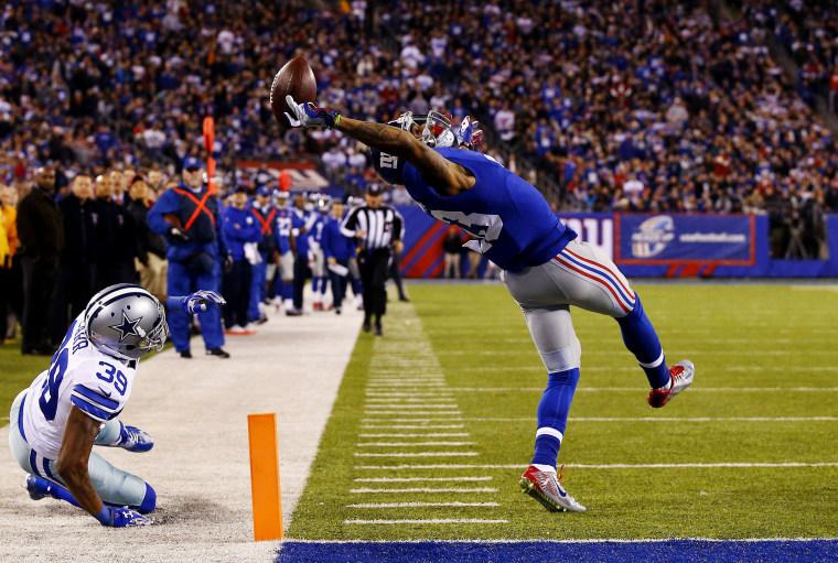 Image: ***BESTPIX*** Dallas Cowboys v New York Giants