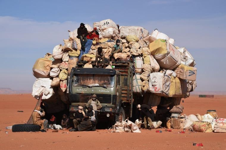 Image: TOPSHOTS-NIGER-MADAMA-LIBYA-BARKHANE